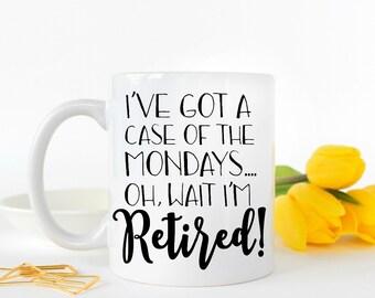 Retirement Gift, Retirement Mug, Funny Retirement Gifts, Retirement Gifts for Women, Retirement, Cute Retirement Gift, Coworker Gifts