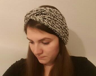 Wide headband and arm warmers