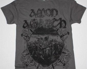 Amon Amarth Battle grey t shirt