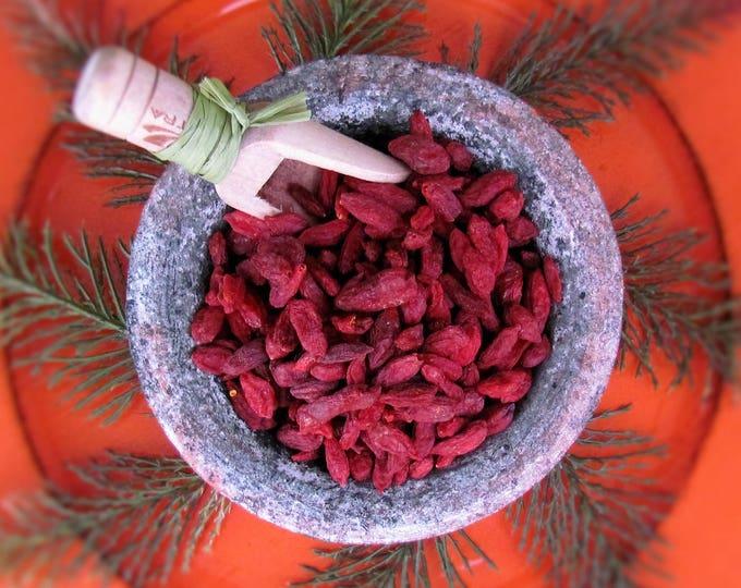 Goji berry, dried goji berries