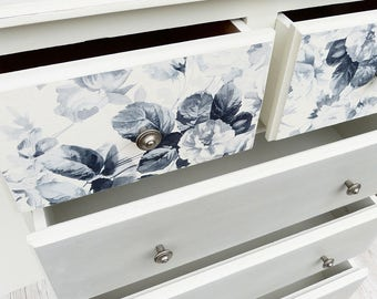 SALE Katrina - vintage shabby chic chest of drawers by Olive Jennings Furniture