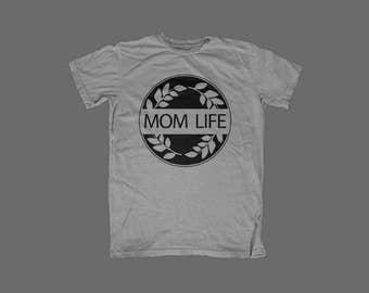 Mom Life Graphic Tee - Momma - Mama bear - Mommy - Circle of Life