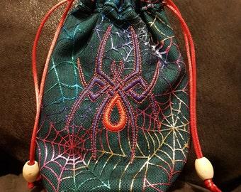 Angel/tarot/oracle card/crystal/rune/treasure bags