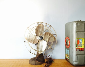 Vintage Chicago Electric Sterling Oscillating Fan