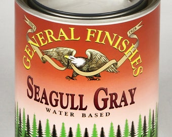General Finishes-SeaGull Gray- Milk Paint
