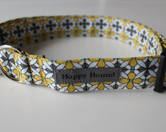 Lucy Dog Collar - Yellow