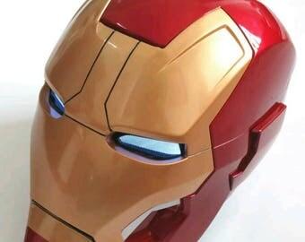 Avengers ironman helmet with light up eyes