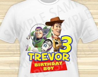 Toy Story Iron On Transfer. Toy Story Transfer. Toy Story Birthday Shirt. Toy Story Party. DIGITAL FILE.