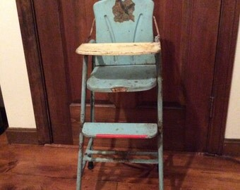 Sears and Roebuck Happy Time Doll/High Chair