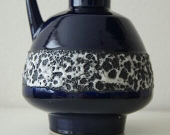 West Germany fat lava vase, Schlossberg