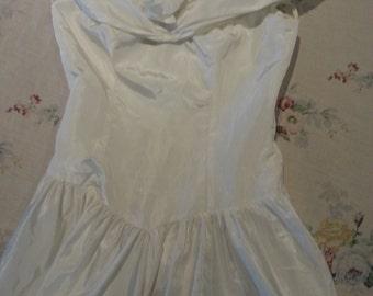 80's  Bridesmaid Dress