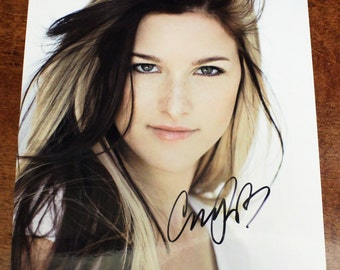 """Cassadee Pope Signed Autograph Glossy Color """"8 1/2 X 11"""" PHOTO Print with COA"""
