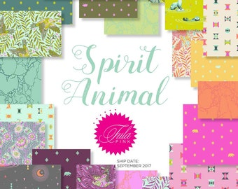 NEW Spirit Animal Half Yard Bundle by Tula Pink