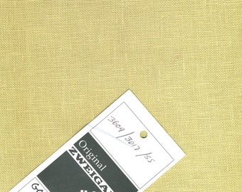 "32 Count Golden Sand Linen by Zweigart - Fat Quarter (18"" x 27"") #59"