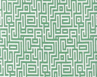 Interlochen Emerald - Magnolia Home Fashions - Upholstery Designer Fabric By The Yard