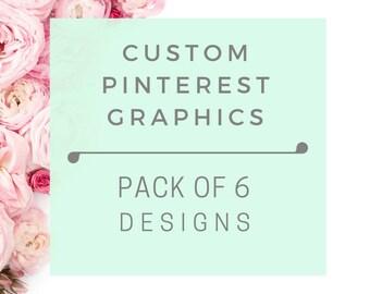 Custom Pinterest Graphics   Social Media Graphic Design   Graphic Designer   Pinterest Templates   Social Media Graphics