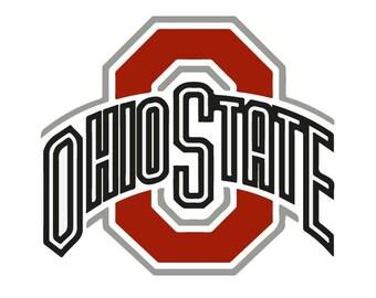 Ohio State Buckeyes Logo, Svg, Eps, Dxf, Png vector logo