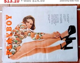 Vintage Playboy September 1972 RARE