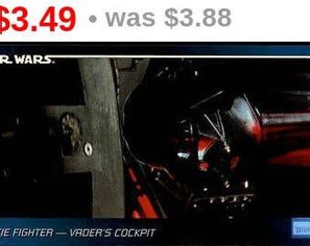 Vintage 1995 Star Wars Widevision #112 Vader Unbalanced MNT