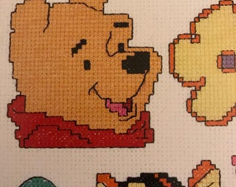 Leisure Arts Pooh Magnets For You in Plastic Canvas pattern book