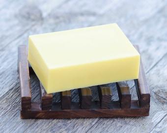 Banana Soap Boat, Banana Coconut soap, guest soap