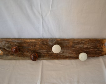 Vintage door knob hook board