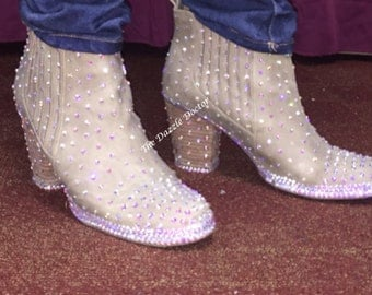 Deposit for Bling Shoes, Bling Boots, Bling shoes, Bling Booties, Swarovski shoes, Swarovski shoes, Strassed Shoes, Strassed Heels