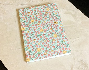 Winnie the Pooh Clothbound/Fabric Covered Notebook