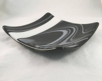 Black and White Licorice Plate