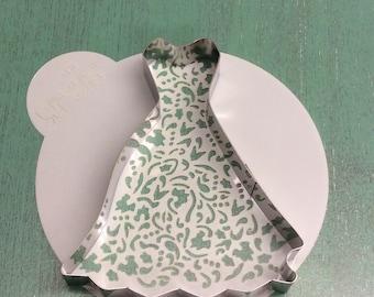 Cookie cutter and stencil set- wedding dress