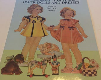 Shirley Temple Paper Doll Book 1991