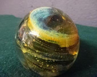 Stunning Art Glass Paperweight/Vintage
