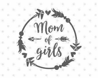 Mom of girls svg Best Mom svg Mom of girls svg file Mother's Day svg Best Mom svg Gift For Mothers Day svg Worlds Best Mom svg Best Mom svg