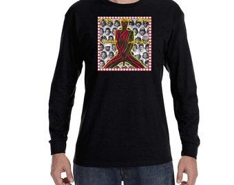 A Tribe Called Quest Midnight Marauders Long Sleeve T-Shirt Vintage Style Hip Hop New Rap Tee Shirt Classic Shirt Q-Tip MC Phife Dawg