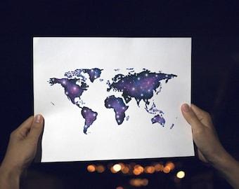 Galaxy Map - Digital Copy