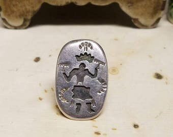 Sterling silver Hopi ring
