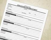 Application for Employmen...