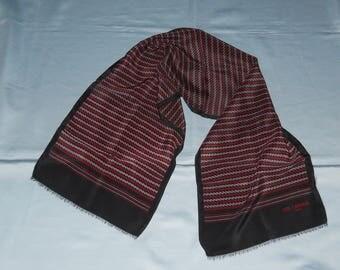 Authentic vintage Ted Lapidus scarf ! Silk !