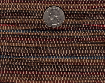 """Rag Rug #2  Printed Cotton Fabric Quilter's Fat 1/8th 9"""" x 22"""""""