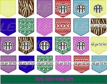 60 % OFF, Shirt Pocket Monogram Frames SVG, Shirt Pocket Svg, Dxf, Eps, Png files for Cricut, Chevron SVG, Vector Art, Digital Cut Files