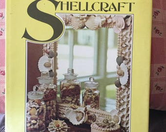 Vintage Book,  The Art of Shellcraft, Paula Critchley 1975