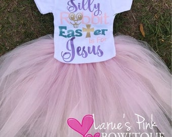 Easter onesie and FULL tutu skirt, Easter outfit, jesus onesie , Easter church outfit , church outfit first Easter outfit onesie,