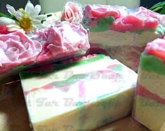 Pretty Petals Handmade Cold Process Soap
