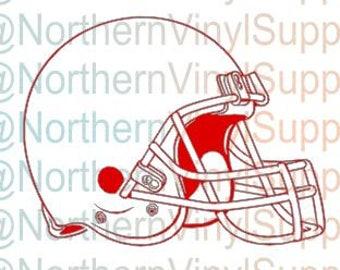 Football Helmet - Blank Football Cut File - Football SVG - Helmet SVG - Helmet Cut file ONLY - Football Helmet svg - Football Helmet File