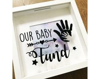 Beautiful baby saving frame