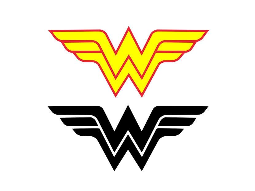 wonder woman svg superhero svg wonder woman sign cricut