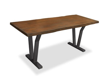 South Cone Home Dakota Live Edge Dining Table