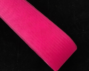 11/2'' Wide Polyester Hot Pink  Horsehair Braid, Selling Per Roll 22 yards/roll