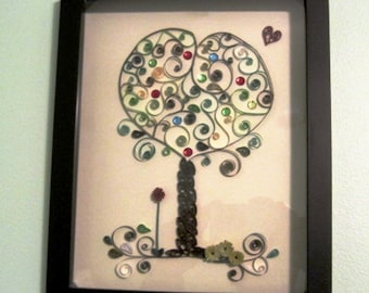 Quilled Paper Tree of Life, Tree of Life