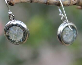 FREESHIPPING Roman Glass Jewelry Earrings Jewelry Silver Jewelry Roman Glass Earrings Roman Glass Jewelry